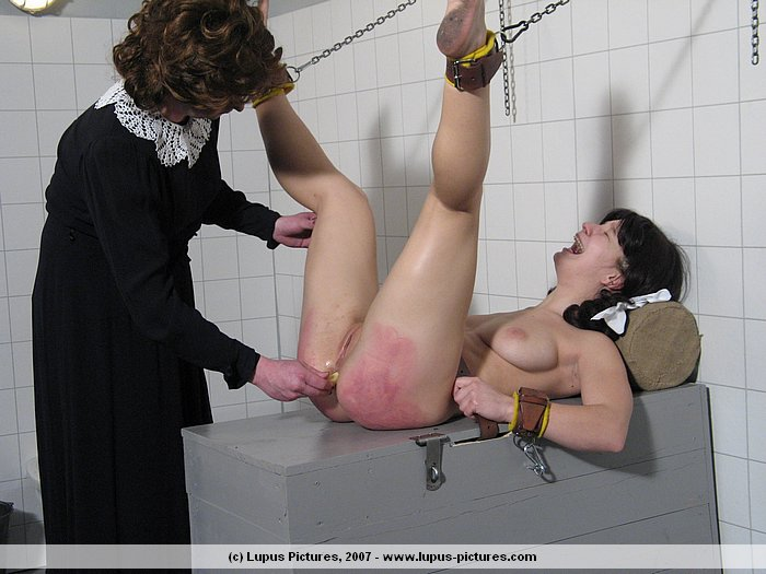 Spanked and figged